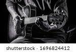 Music Concept. Guitar Acoustic. ...