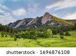 Flatirons In Boulder Colorado ...