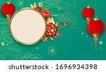 chinese decorative classic... | Shutterstock .eps vector #1696934398