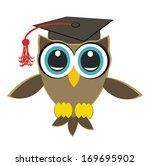 studied owl | Shutterstock . vector #169695902