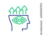 predictive analytics vector... | Shutterstock .eps vector #1696963555