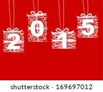 happy new year 2015 | Shutterstock . vector #169697012