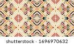 tribal vector ornament.... | Shutterstock .eps vector #1696970632