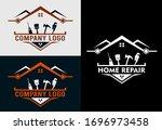 home repair logo modern design...   Shutterstock .eps vector #1696973458