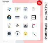 user interface pack of 16 basic ...   Shutterstock .eps vector #1697025148