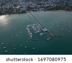 Aerial View Of The Bay With...