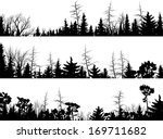 set of vector horizontal... | Shutterstock .eps vector #169711682