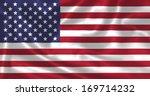 the american flag american flag ... | Shutterstock . vector #169714232