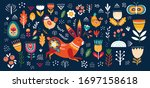 big easter collection of... | Shutterstock .eps vector #1697158618