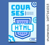 html courses creative...   Shutterstock .eps vector #1697161015