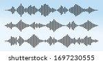 audio technology  music sound... | Shutterstock .eps vector #1697230555