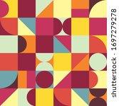 geometry minimalistic... | Shutterstock .eps vector #1697279278