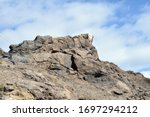 Rugged Outcrop Of Volcanic Roc...