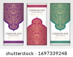 luxury packaging design of... | Shutterstock .eps vector #1697339248