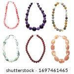 jewelry background fashion...   Shutterstock . vector #1697461465