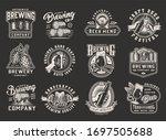 Vintage Monochrome Brewing...