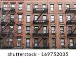 apartment buildings in new york ... | Shutterstock . vector #169752035