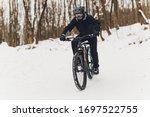 Winter Riding A Mountain Bike...