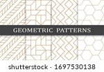 seamless geometric pattern... | Shutterstock .eps vector #1697530138