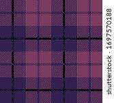 tartan plaid with purpl  pink...   Shutterstock .eps vector #1697570188