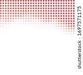 red random dots background ...   Shutterstock .eps vector #1697571175