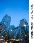 corporate building financial... | Shutterstock . vector #169760426