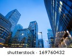 corporate building financial... | Shutterstock . vector #169760432