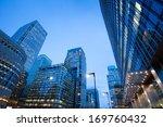 corporate building financial... | Shutterstock . vector #169760432
