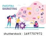 social network and media... | Shutterstock .eps vector #1697707972