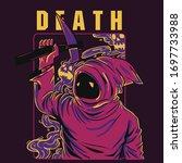 death illustration concept  ...   Shutterstock .eps vector #1697733988