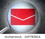 finance concept  magnifying...   Shutterstock . vector #169783826