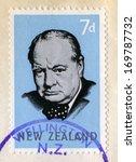 new zealand   circa 1965  a... | Shutterstock . vector #169787732