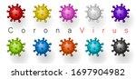 coronavirus 2019 ncov. corona... | Shutterstock .eps vector #1697904982