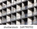 regular structure of windows... | Shutterstock . vector #169790702