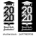 class of 2020 . the concept of... | Shutterstock .eps vector #1697985958