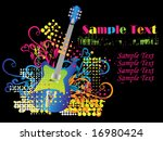 music background | Shutterstock .eps vector #16980424