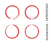 Four Red Circle Collection...