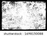 grunge frame  vector background ... | Shutterstock .eps vector #1698150088