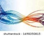 vector abstract background... | Shutterstock .eps vector #1698350815