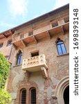 Verona  Italy. Juliet's Balcony....