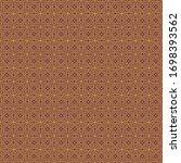 ornate traditional seamless...   Shutterstock . vector #1698393562