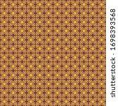 ornate traditional seamless...   Shutterstock . vector #1698393568