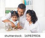 indian family teaching children ...   Shutterstock . vector #169839836