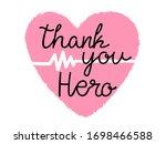 thank you doctor  nurses ... | Shutterstock .eps vector #1698466588
