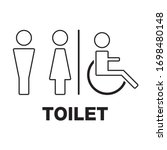 Vector Men And Women Disabled...