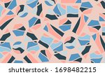 trendy abstract geometric... | Shutterstock .eps vector #1698482215
