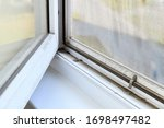Dirt In Open Window With...