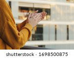 Stock Photo Of A Girl\'s Hands...
