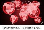 coronavirus all around the...   Shutterstock .eps vector #1698541708