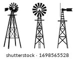 Windmill Silhouette...